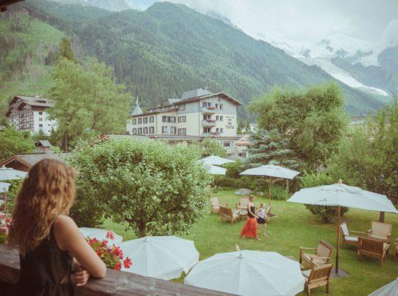 Hôtel de luxe vue Mont-Blanc