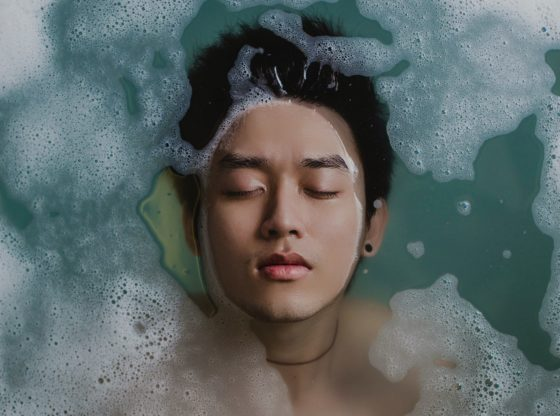 Détente dans un spa